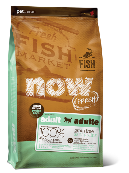 NOW FRESH SM BREED GF FISH 6LB