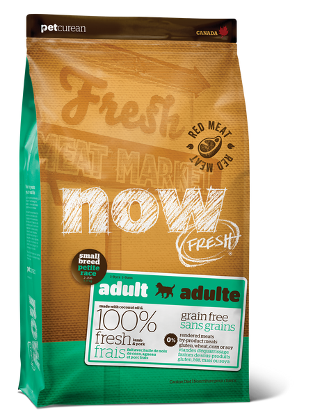 NOW FRESH SM BREED GF RED MEAT 6LB