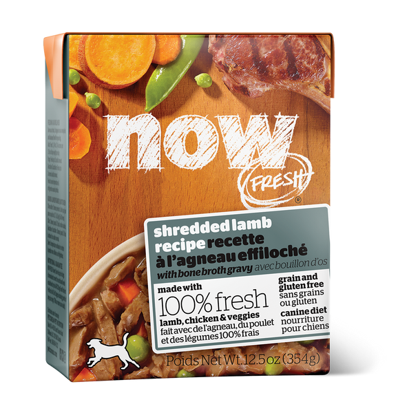 NOW FRESH GF SHRED LAMB DOG 12.5OZ