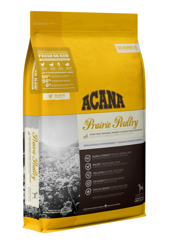 ACANA CLASSIC PRAIRIE POULTRY DOG 17KG