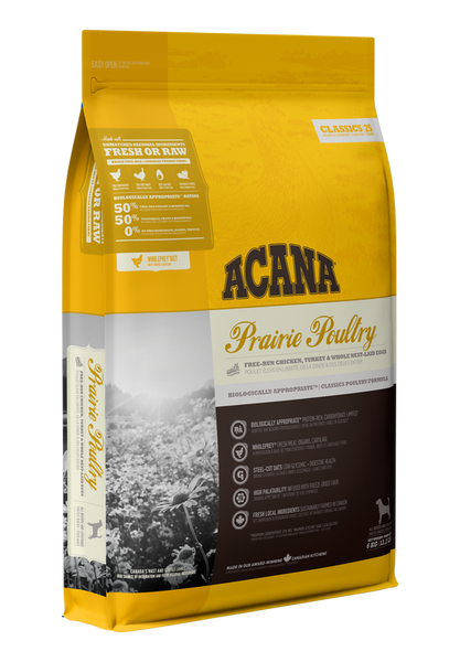 ACANA CLASSIC PRAIRIE POULTRY DOG 11.4KG