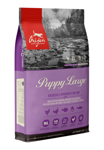 ORIJEN LARGE BREED PUPPY 11.4KG