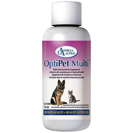 OMEGA ALPHA OPTI-PET MULTI 120ML