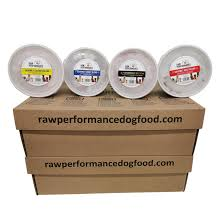 Raw Performance BEEF WOLF PACK VARIETY CASE 12X4LB