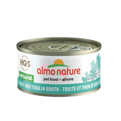 ALMO CAT NAT TROUT/TUNA 70G
