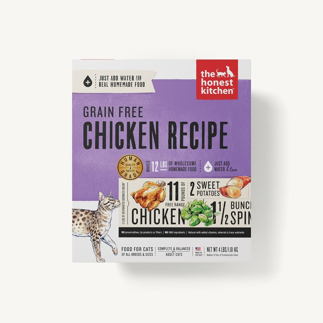 Honest Kitchen CHICKEN GF CAT 4LB
