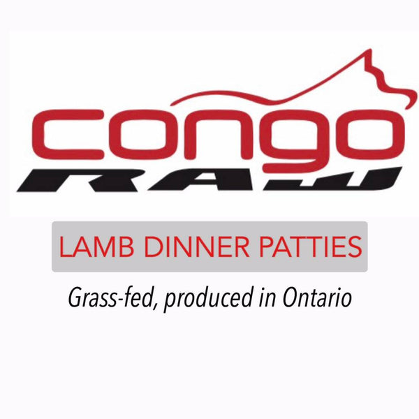 CONGO NATURAL LAMB DINNER 4LB