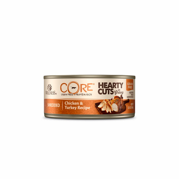 WS CORE HEARTY CHICK/TURK CAT CAN 155G