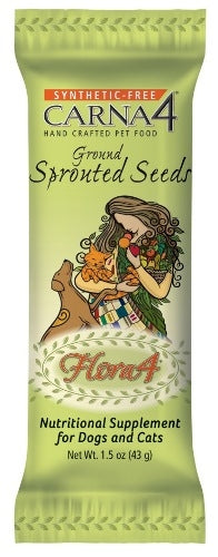 CARNA4 SPROUTED SEEDS TOPPER IND POUCH
