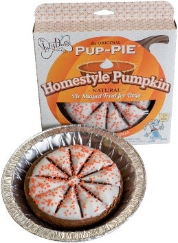 LAZY DOG PUP PIE EVERYDAY PUMPKIN PIE 6""