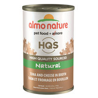 ALMO CAT NAT TUNA/CHSE 140G