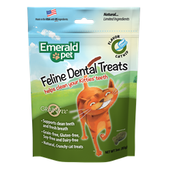EMERALD DENTAL TREAT CAT CATNIP 3OZ