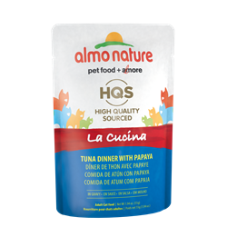 ALMO CAT LA CUCINA TUNA/PAPAYA 55G