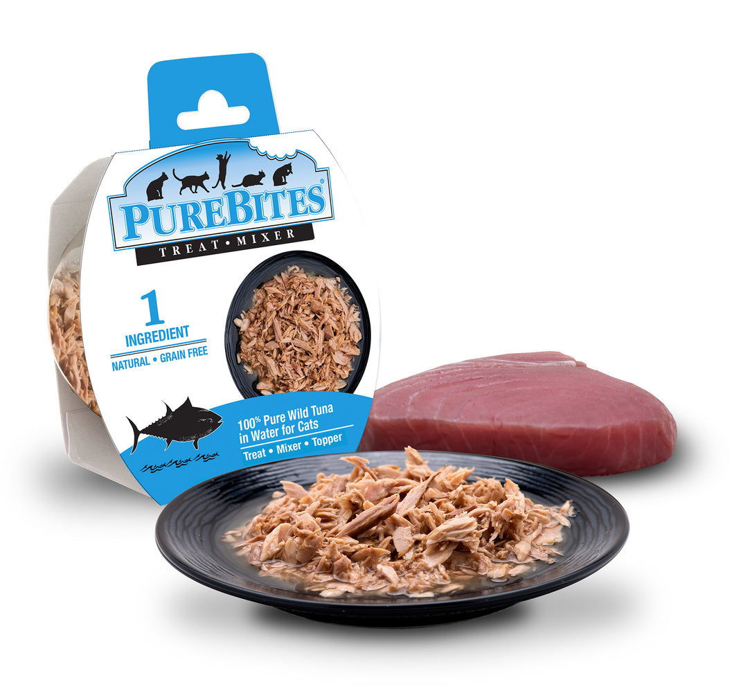 PUREBITES FELINE WHOLE FOOD TUNA 50G