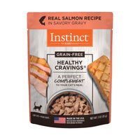 NV INSTINCT HEALTHY CRAVE SALMON CAT 85G