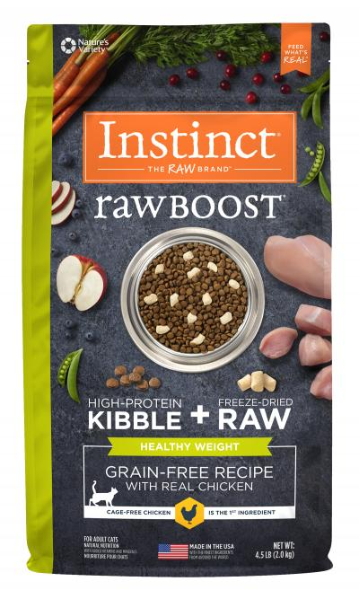 NV RAW BOOST HEALTHY WT CHIC CAT 2KG