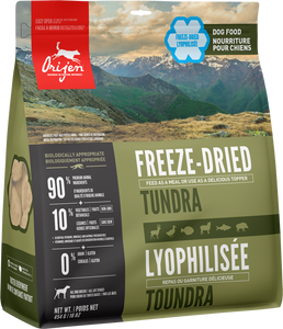 ORIJEN FREEZE DRIED TUNDRA 170G