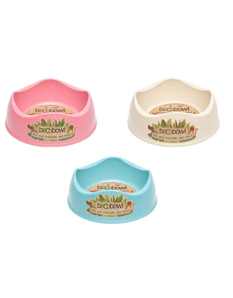 BECO CAT BOWL PINK 0.25L