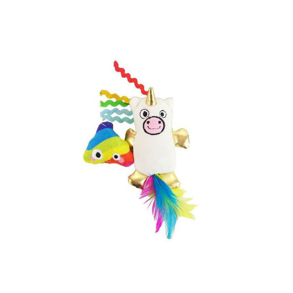 MAD CAT MEWNICORN CAT TOY 2PK