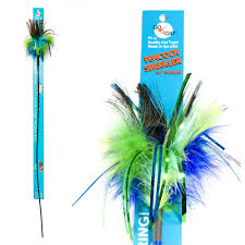 GO CAT PEACOCK SPARKLER 36""
