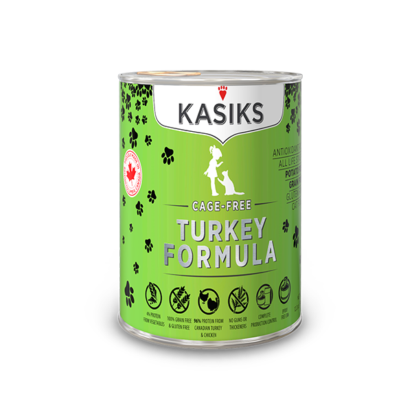 KASIKS CF TURKEY CAT CAN 12.2OZ