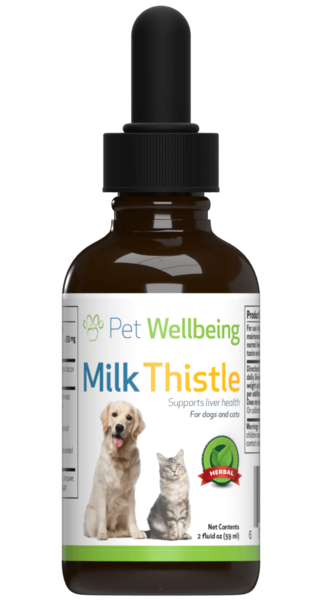 PET WELLBEING MILK THISTLE DOG 2OZ