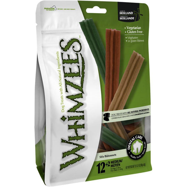 WHIMZEES STIX MED PCH 14PK
