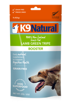 K9 NATURAL FD LAMB GRN TRIPE TOPPER 57G