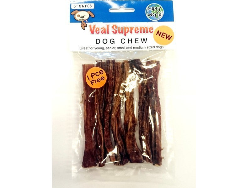 PW SUPREME VEAL CHEWS 5