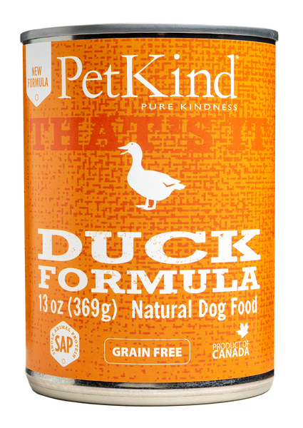 PETKIND GF DUCK CAN 369G