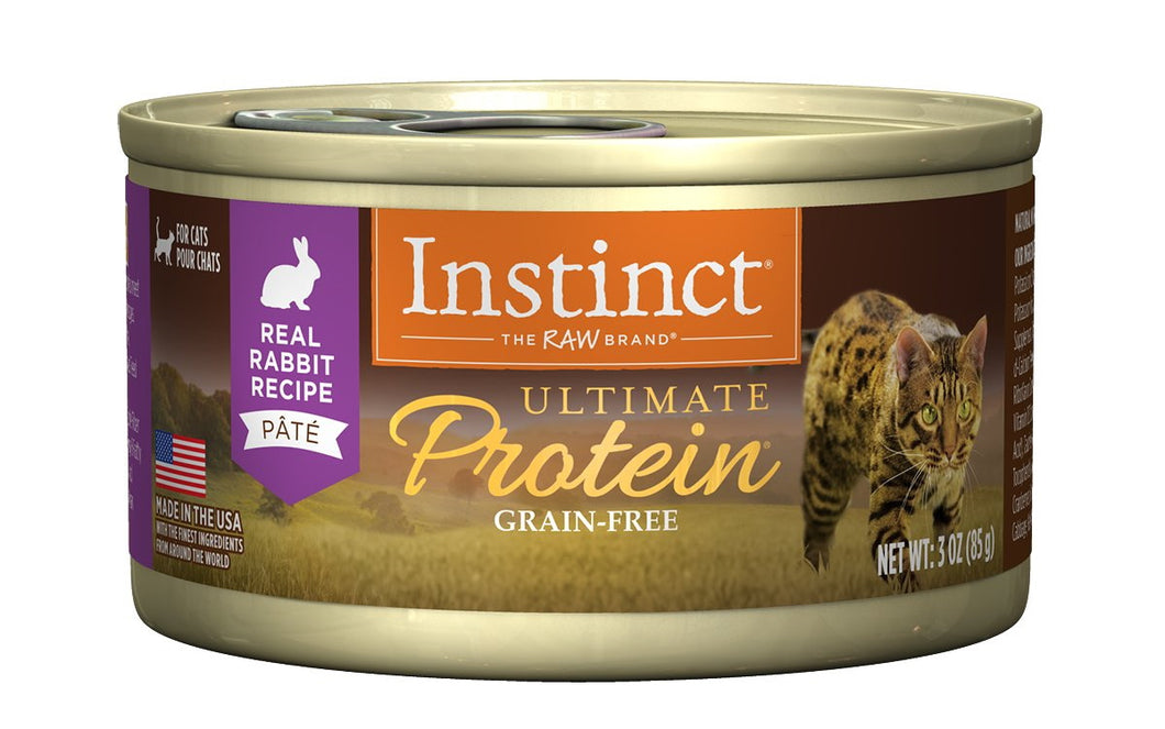 NV ULTIMATE PROTEIN RABBIT CAT CAN 85G