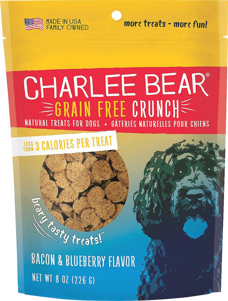 CHARLEE BEAR CRUNCH BACON/BLUEB 8OZ