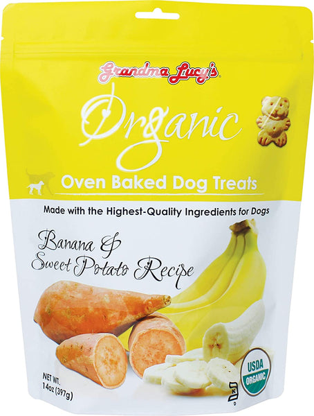 GL ORGANIC BANANA & SP BISCUITS 14OZ
