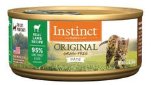 Load image into Gallery viewer, NV INSTINCT LAMB CAT CANS 85G