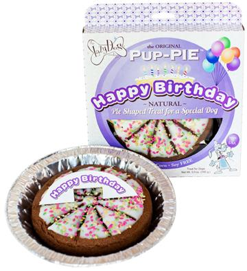 LAZY DOG PUP PIE BIRTHDAY SPECIAL 6""