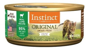 NV INSTINCT LAMB CAT CAN 156G