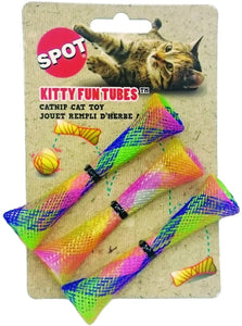 "SPOT KITTY FUN TUBES 3.25"" 3PK"