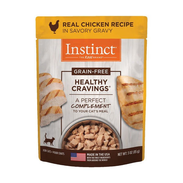 NV INSTINCT HEALTHY CRAVE CHIC CAT 85G