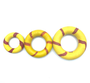 GOUGHNUTS ORIG 0.75 RING YELLOW