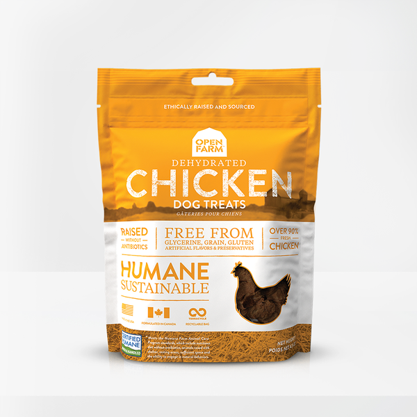 OPEN FARM TREAT CHICKEN 127G
