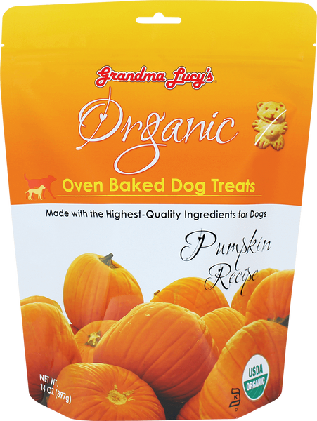 GL ORGANIC PUMPKIN BISCUITS 14OZ