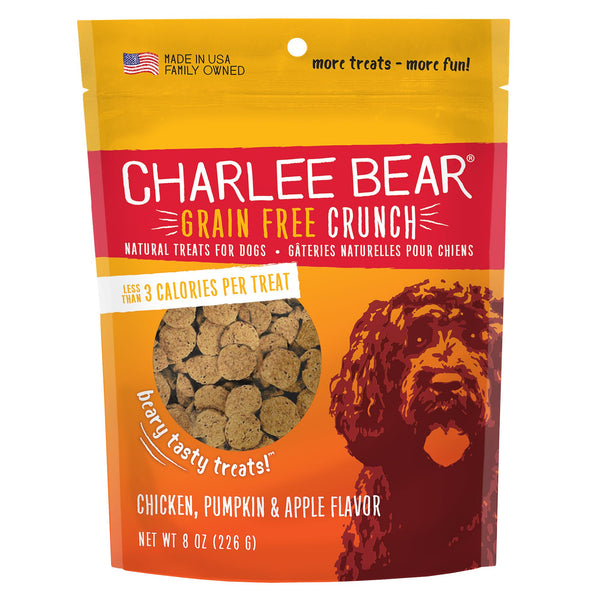 CHARLEE BEAR CRUNCH CHIC/PUM/APP 8OZ