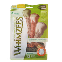 WHIMZEES BRUSHZEES MED 12PK