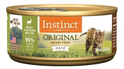 NV INSTINCT VENISON CAT CAN 156G