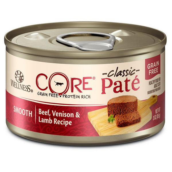 WS CORE BEEF/VENISON/LAMB CAT CAN 155G
