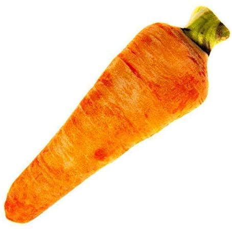NCT CATNIP PLUSH CARROT CUDDLE TOY
