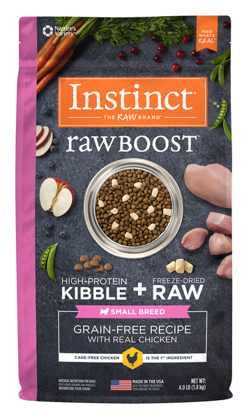 NV RAW BOOST DOG CHICKEN 1.81KG