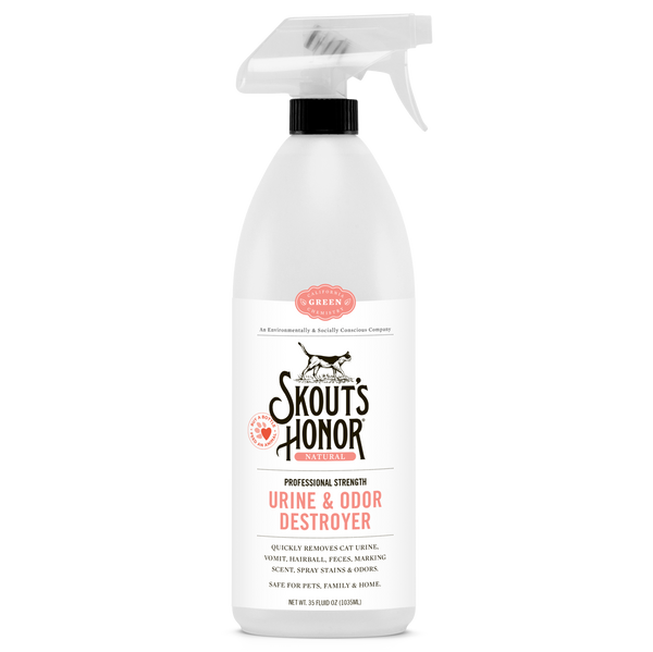 SKOUTS HONOR CAT URINE+ODOR DESTROY 35OZ