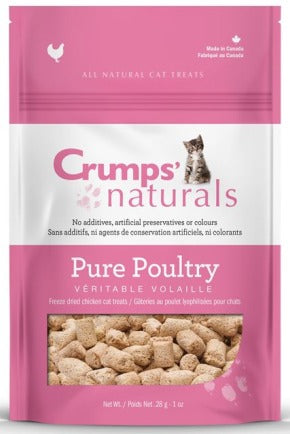 CRUMPS FD PURE CHICK CAT TREAT 28G