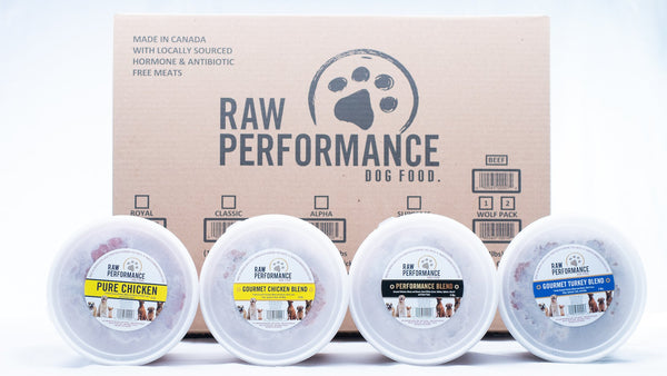 RP WOLF PACK VARIETY CASE 12X4LB
